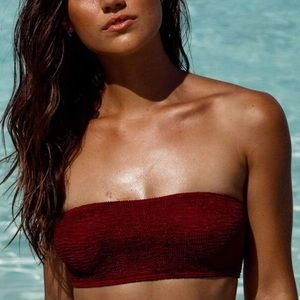 Bound by Bond Eye 'THE SIERRA' Bandeau Bikini Top